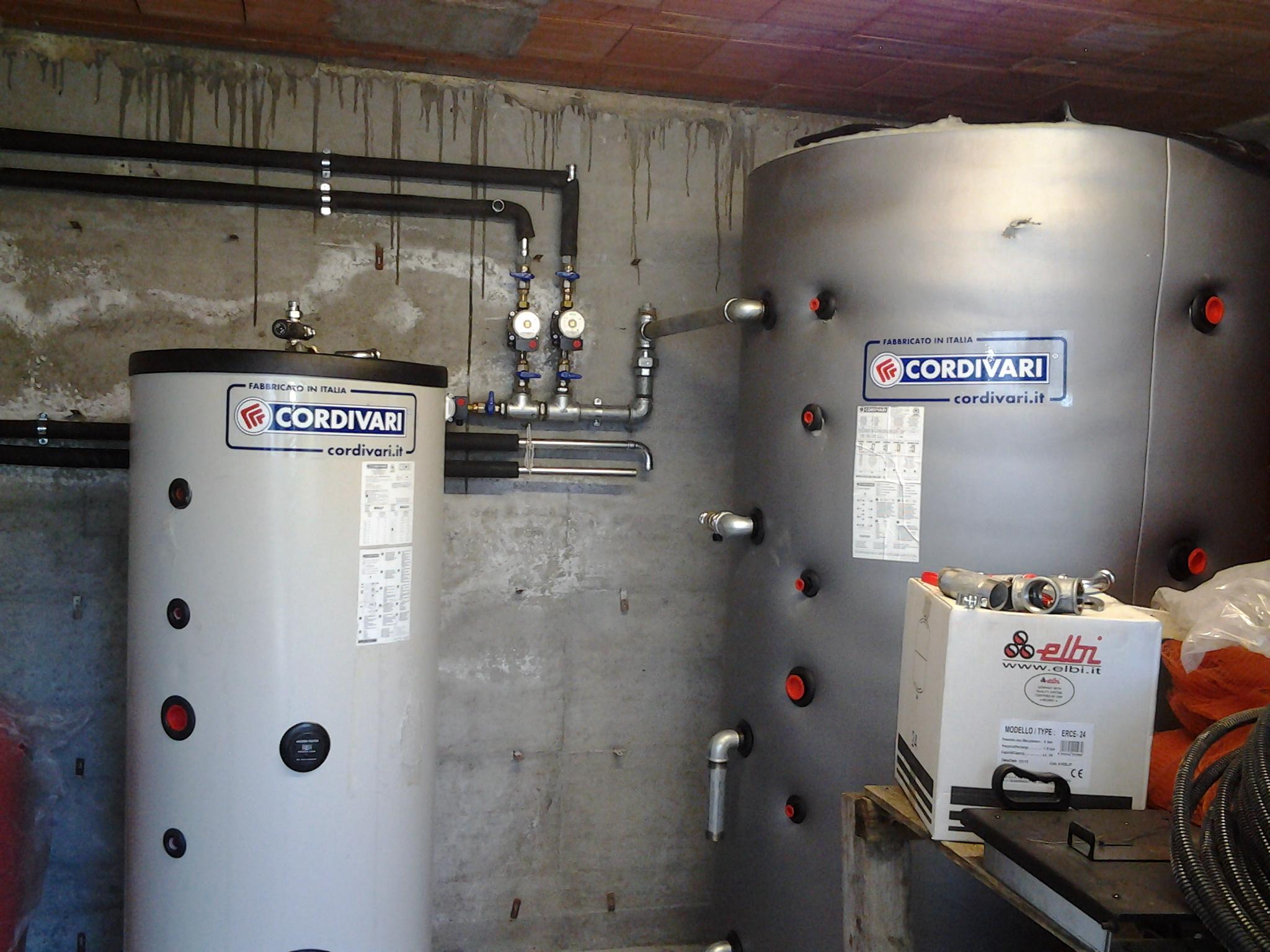 Pannello Solare Con Termocamino : Impianti solari termici